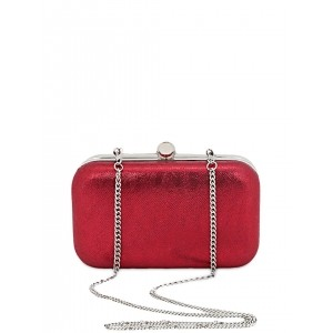 Berrypeckers Red Box Clutch