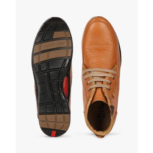 RED CHIEF Panelled Lace-Up Casual Shoes