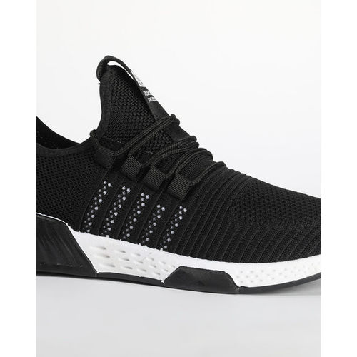 Revs Textured Lace-Up Casual Shoes