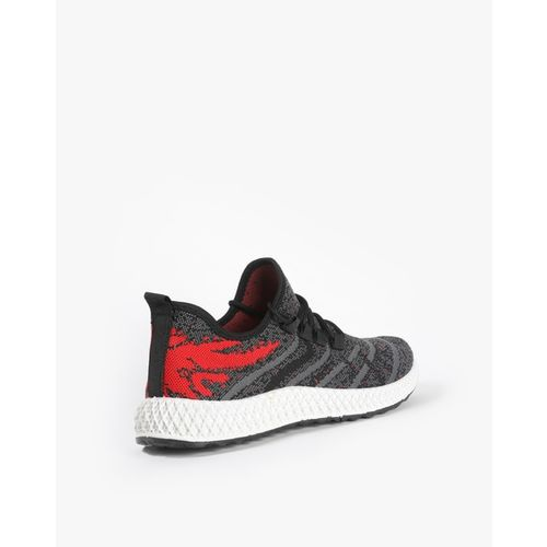 Revs Printed Lace-Up Casual Shoes