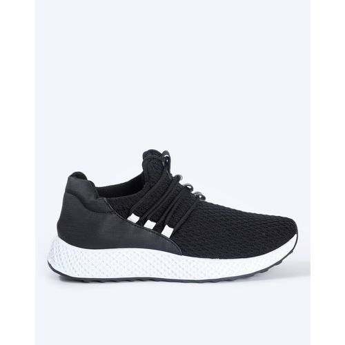 Revs Textured Lace-Up Shoes