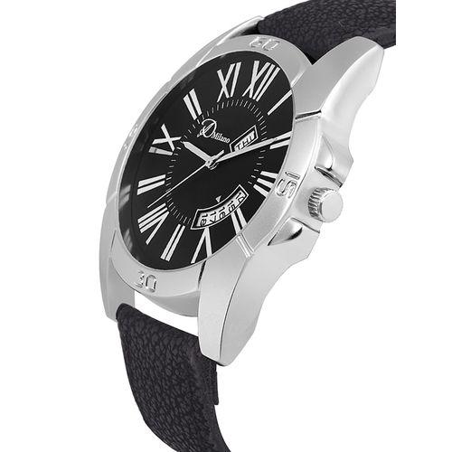 d'milano men royal dusk casual analog watch