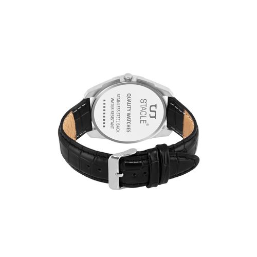 Stacle round dial analog watch (stw053)