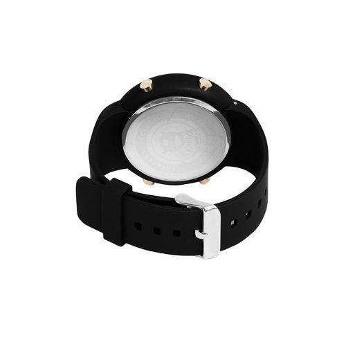 Knotyy round dial digital watch -(knty-ww-m-sw250)