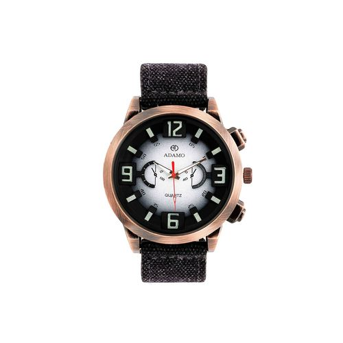 adamo biker men's wrist watch ad27sl01