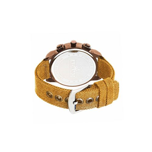 adamo biker men's wrist watch ad28br04