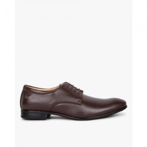 DUKE Textured Low-Top Derby Shoes