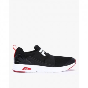 FILA Textured Slip-On Sneakers with Elasticated Gusset