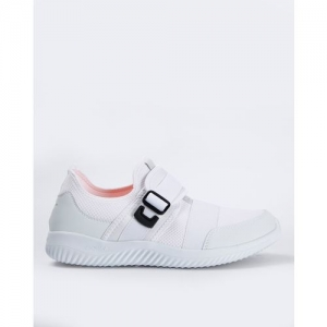RED TAPE Textured Low-Top Sports Shoes with Velcro Fastening