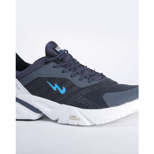 Campus Prestige Panelled Lace-Up Sports Shoes