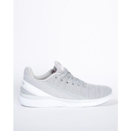 RED TAPE Textured Mid-Top Lace-Up Sports Shoes