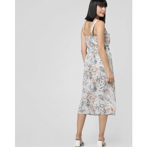 Vero Moda Tropical Print A-line Dress