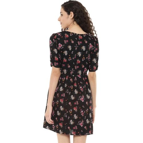 PEOPLE Floral Print Skater Dress