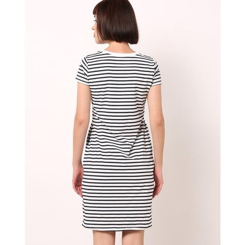 Teamspirit Striped T-shirt Dress with Slip Pockets