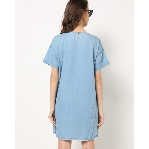 RIO Shift Dress with Side Pockets