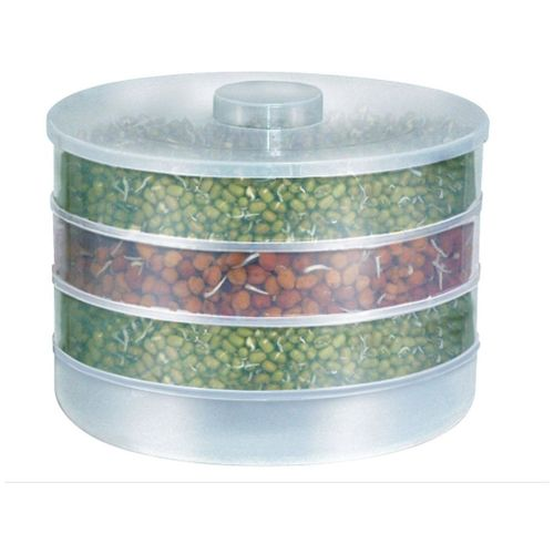SRK Internationals SRK 4 Compartment Hygienic Healthy Sprout Maker by Super Saver Sale