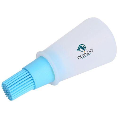Navisha silicon oil Bottle Brush (colour assorted) by Kudos Enterprise