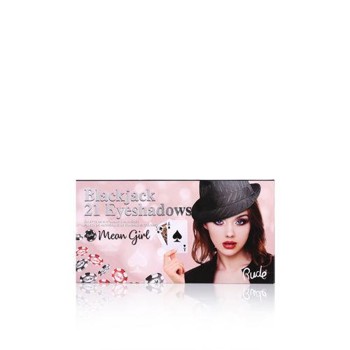Rude Cosmetics Mean Girl Blackjack 21 Eyeshadow Palette