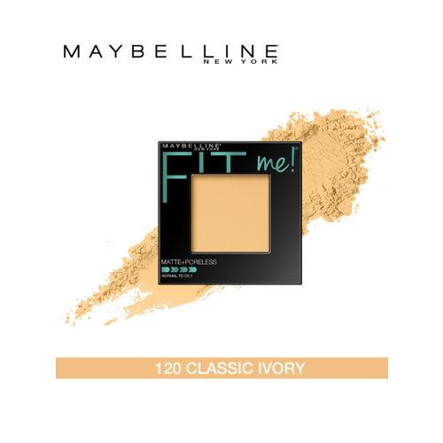 Maybelline New York Fit Me Matte Poreless Powder - Classic Ivory 120 8.5 g