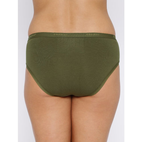 Enamor Pack of 3 Mid-Rise Assorted Briefs CR02