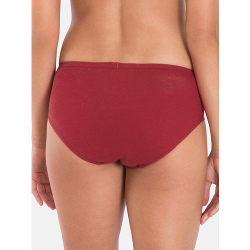 Jockey Women Pack of 3 Solid Assorted Hipster Briefs 1406-0310