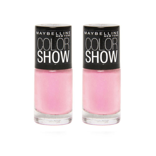 Maybelline New York Set Of 2 002 Pinklicious Color Show Nail Enamel