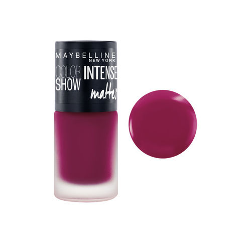 Maybelline New York Set Of 2 M403 Vibrant Violet Color Show Intense Matte Nail Paint