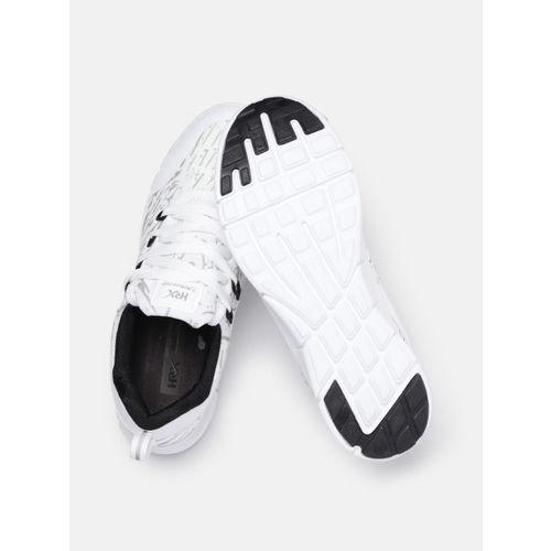 HRX by Hrithik Roshan Men White & Grey Printed Trainer-1 Training Shoes