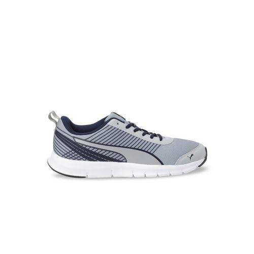 Puma Men Grey Mesh Spectrum IDP Running Shoes