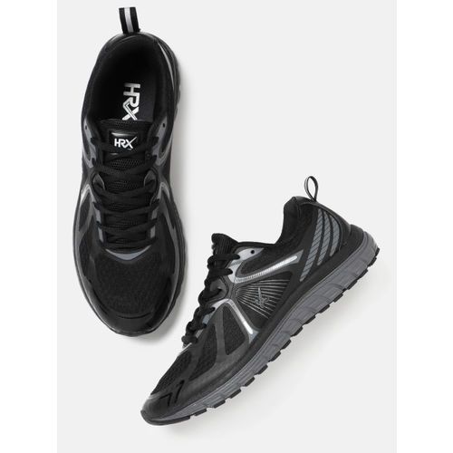 HRX by Hrithik Roshan Men Black Running Shoes
