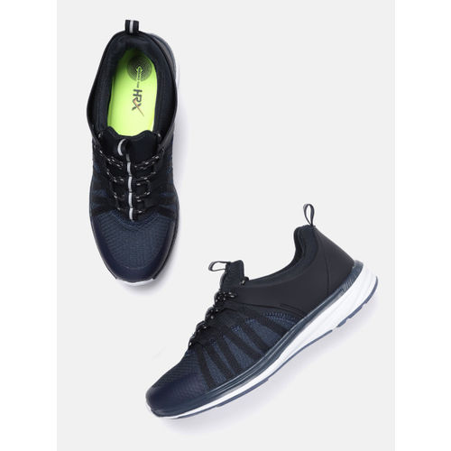 HRX by Hrithik Roshan Men Navy Blue & Black Street Running Shoes