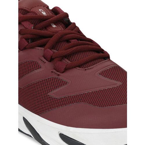 Campus Men Maroon Avenger Mesh Running Shoes