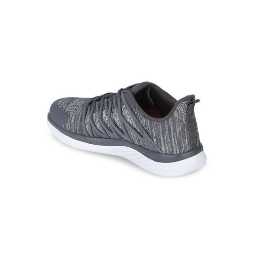 Red Tape Men Grey Textile Walking Shoes