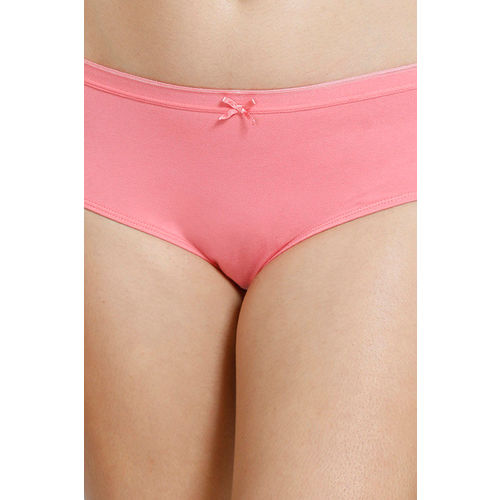 Zivame Low Rise Anti-Microbial Hipster Panty (Pack of 3 ) - Pink Blue Daisy Pt