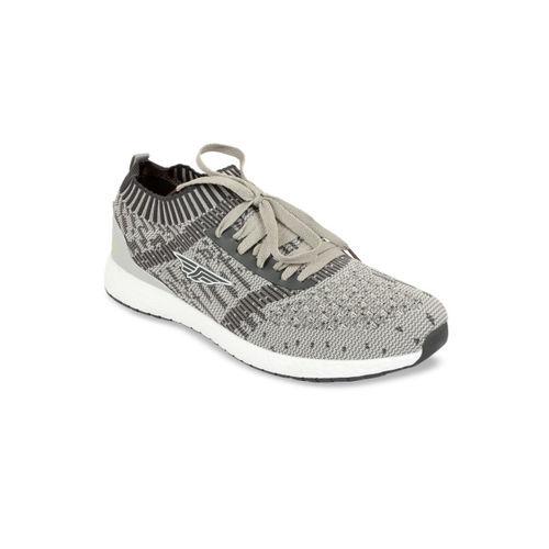 Red Tape Men Grey Walking Shoes
