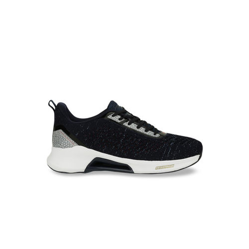 Campus Men Navy Blue Mesh Running Shoes