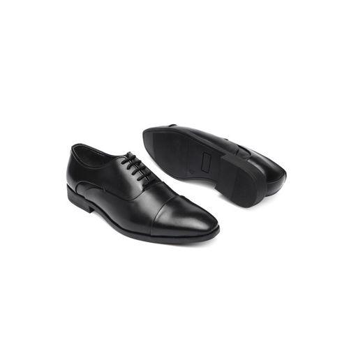 INVICTUS Men Black Formal Oxford Shoes