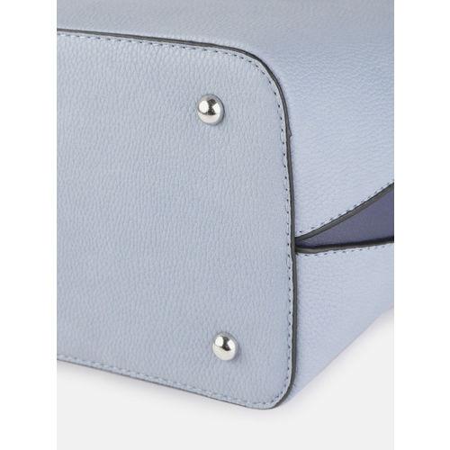 Mast & Harbour Blue Solid Shoulder Bag