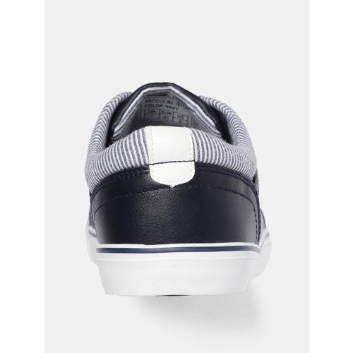 Mast & Harbour Men Navy Blue Sneakers