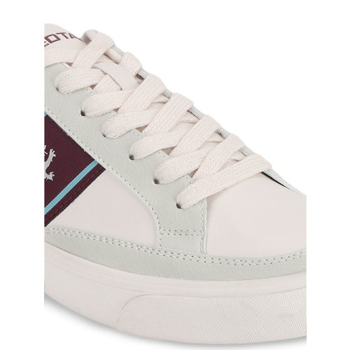 Red Tape Men Off-White Sneakers