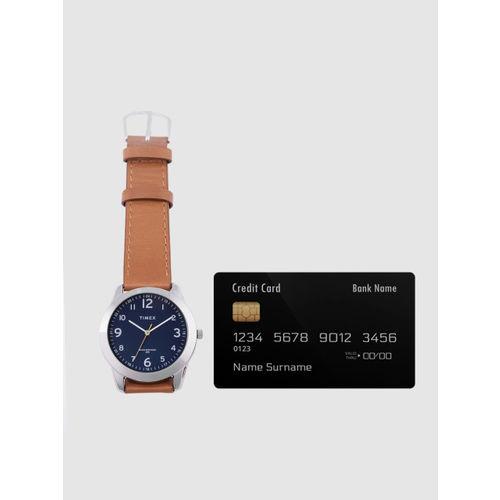 Timex Men Navy Blue Analogue Watch TW00ZR295E