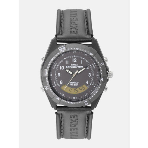 Timex Men Black Analogue and Digital Watch TW00MF103