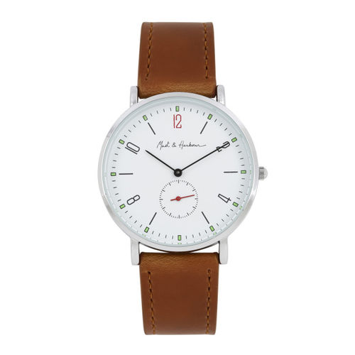Mast & Harbour Men White Analogue Watch MH8-A