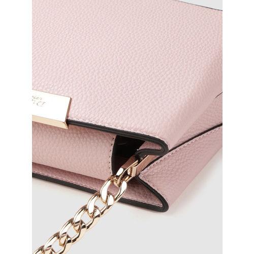 Dune London Pink Solid Handheld Bag