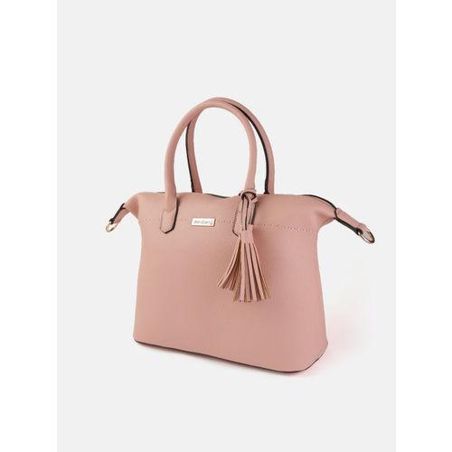 DressBerry Pink Solid Handheld Bag
