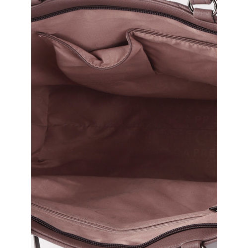 Caprese Mauve Quilted Shoulder Bag