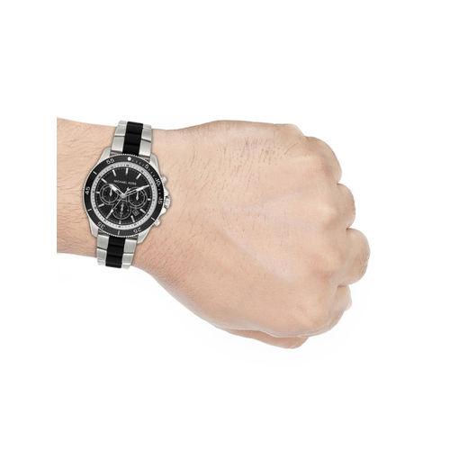 Michael Kors THEROUX Men Silver Analogue Watch MK8664
