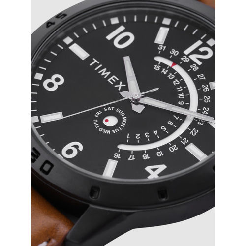 Timex Men Black Analogue Watch TW000U928
