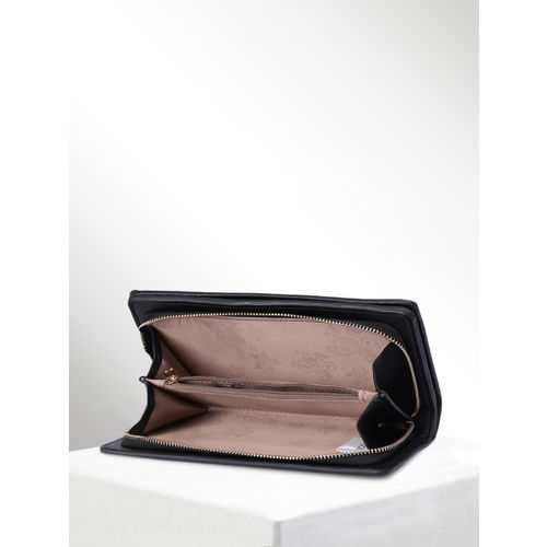 CORSICA Women Black Solid Zip Around Wallet