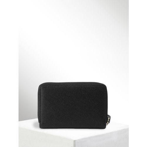 CORSICA Women Black Solid Two Fold Wallet